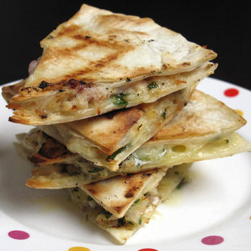 Turkey and Cranberry Quesadillas | Recipe of the Day | POPSUGAR Food