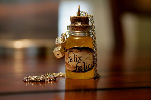 Harry Potter Felix Felicis Necklace ($10)