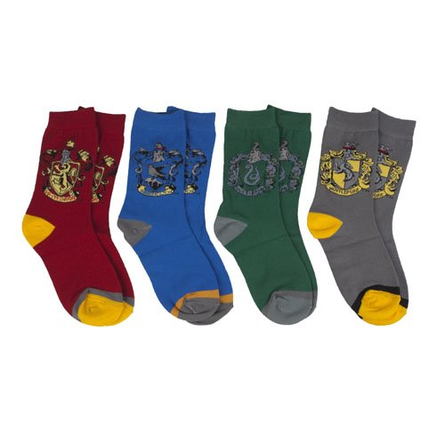 Harry Potter House Socks Four-Pack ($25)