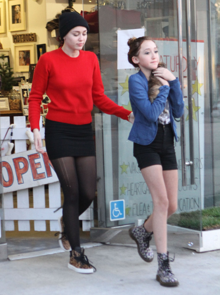 Miley Shops and Adopts a New Puppy, Penny Lane!