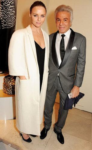 Stella McCartney and Giancarlo Giammetti