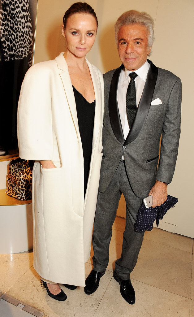 Stella McCartney and Giancarlo Giammetti