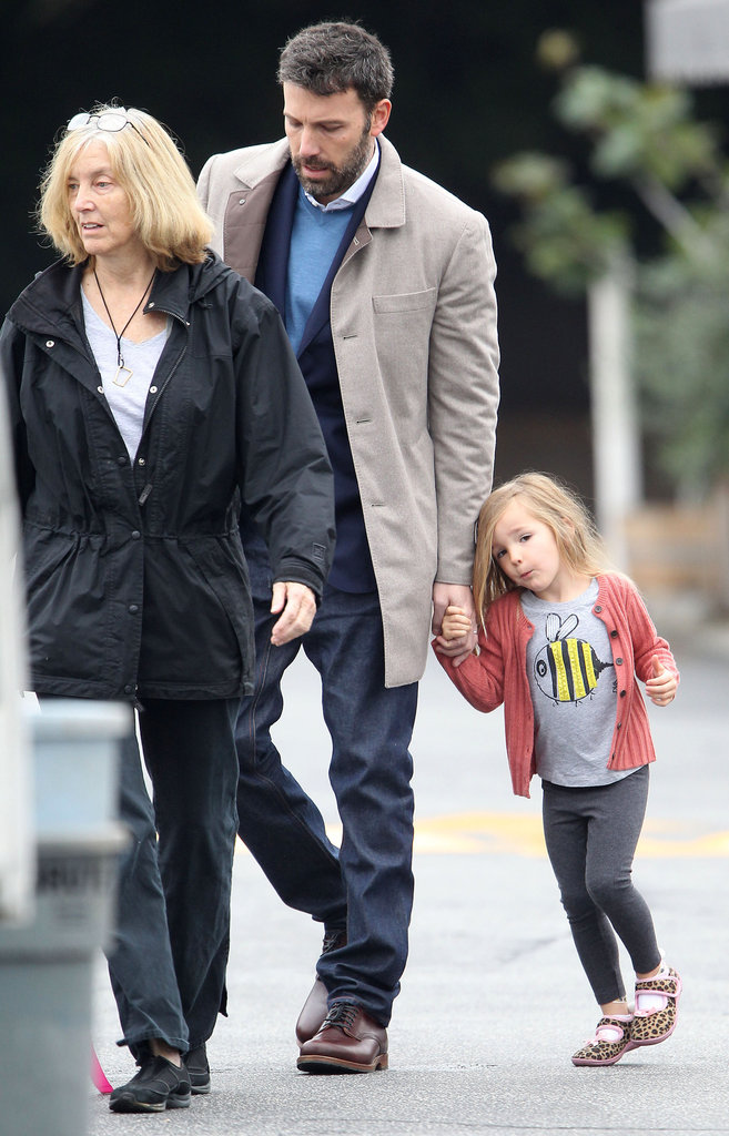 Ben Affleck, his mom, Chris, and Seraphina had breakfast together in LA.