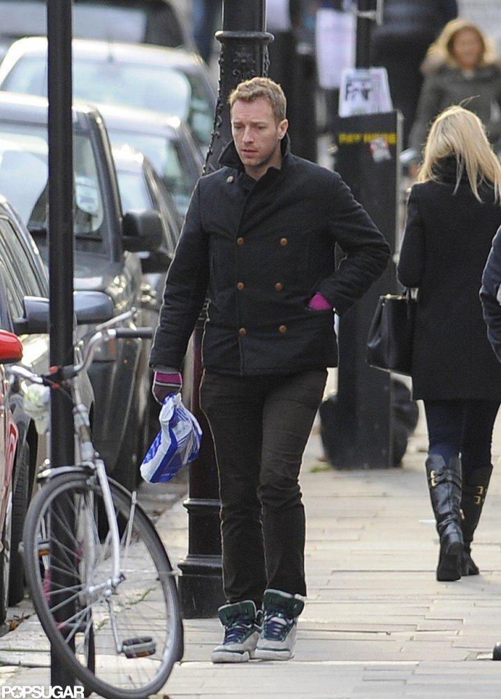 Gwyneth Paltrow Returns Home to Chris Martin in London