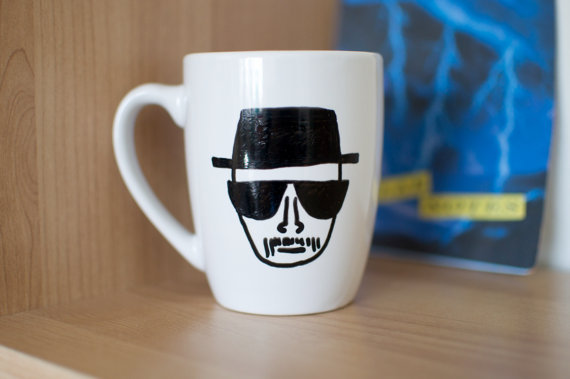 Breaking Bad Heisenberg Mug ($14)