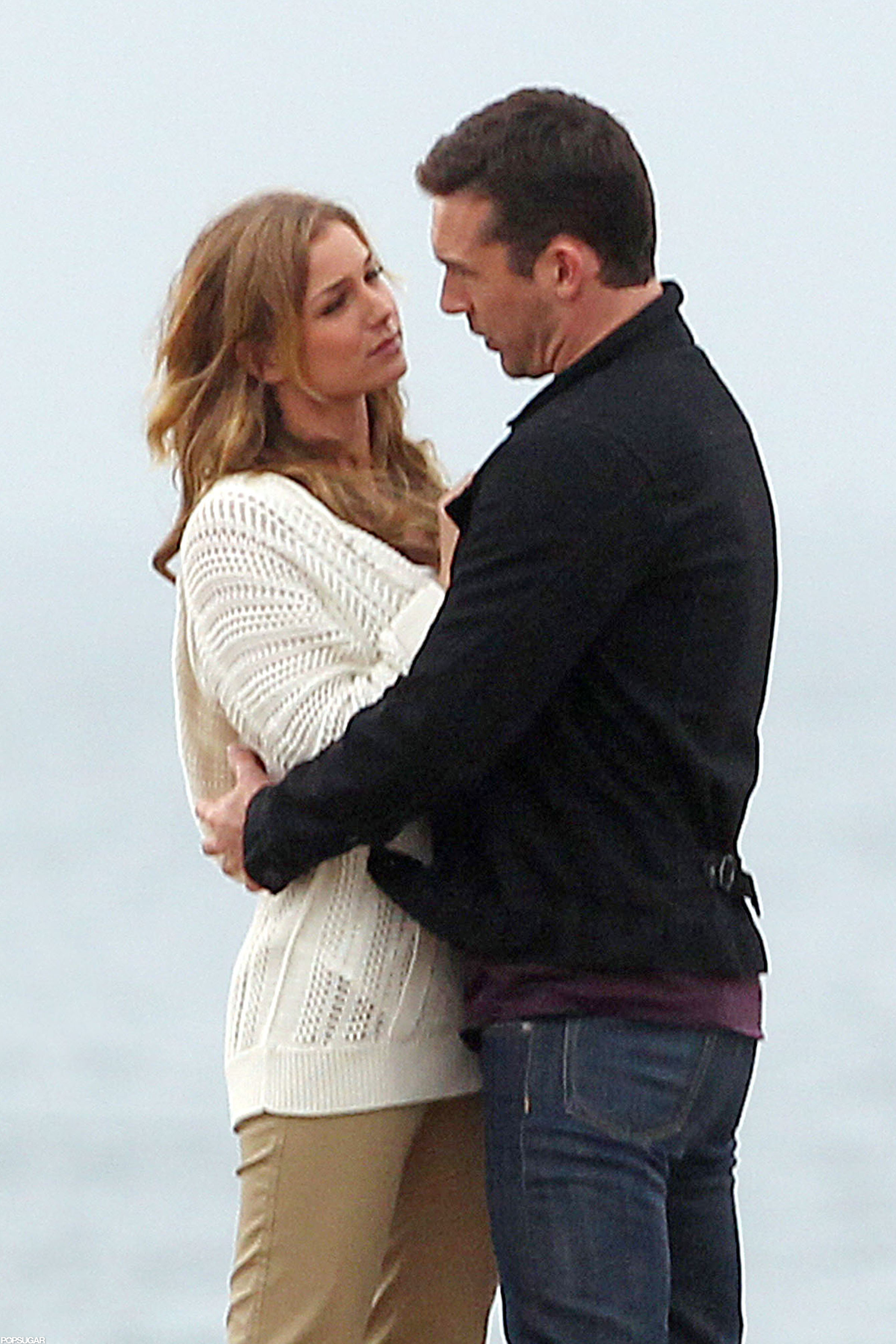 emily vancamp and costar barry sloane filmed a romantic