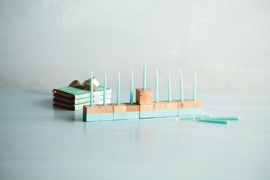 Crafts: Hanukkah Bead Blocks