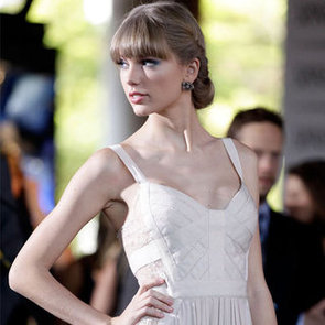 Taylor Swift in Elie Saab Spring 13 at the 2012 ARIA Awards