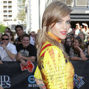 Ruby Rose Wears Romance Was Born at the 2012 ARIAs