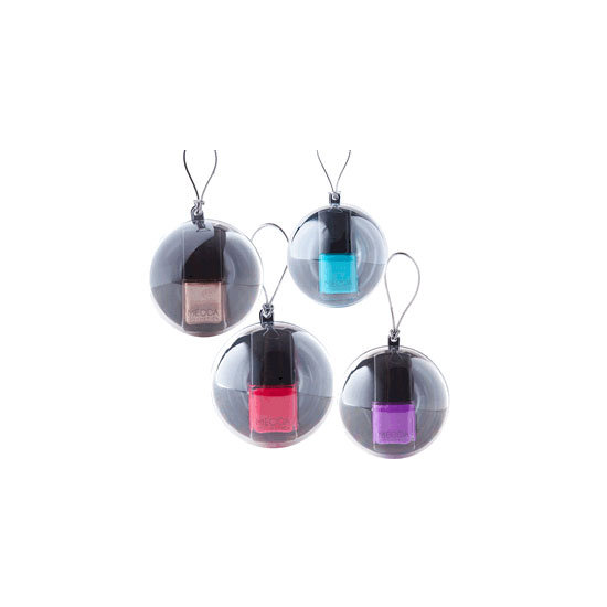 Mecca Cosmetica Painted Beauty Holiday Nail Baubles, $22 each