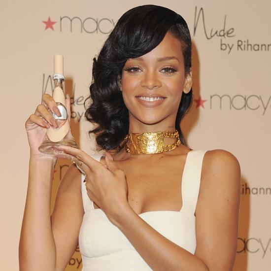 Rihanna's Nude Perfume Interview
