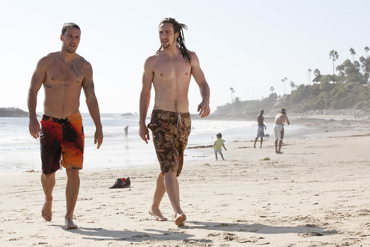 Aaron Taylor-Johnson and Taylor Kitsch, Savages