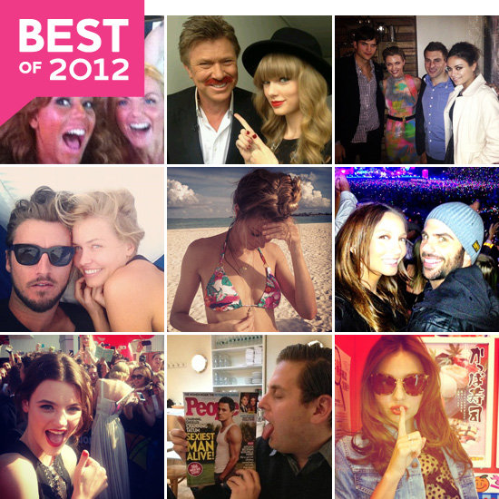 The Best Celebrity Social Snaps of 2012!