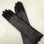 Brian Atwood Leather Gloves