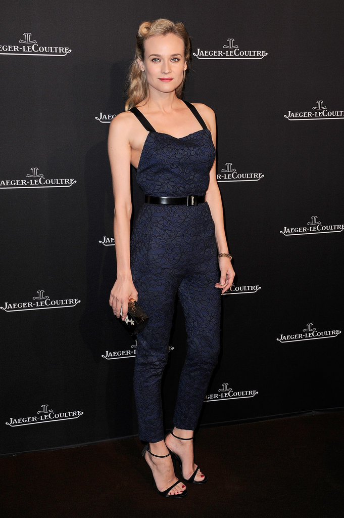 Diane Kruger's Jason Wu jumpsuit is a hot alternative to the usual party fare.