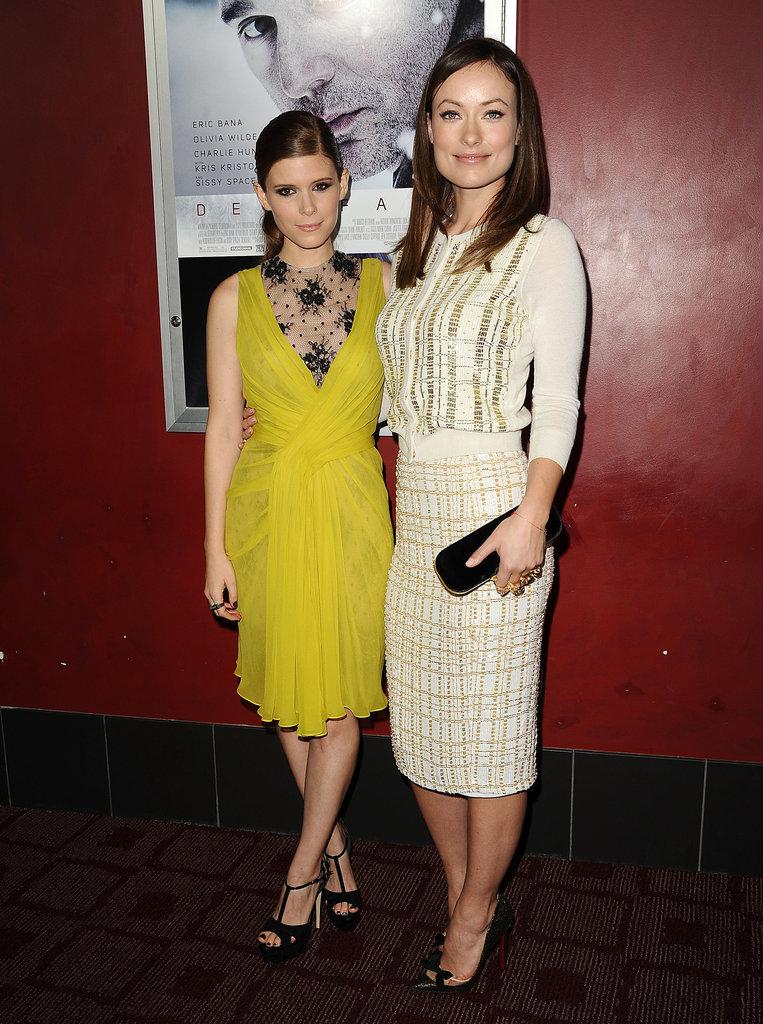 Kate Mara and Olivia Wilde