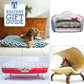 Holiday Gift Guide: Designer Dog Beds For Posh Pups