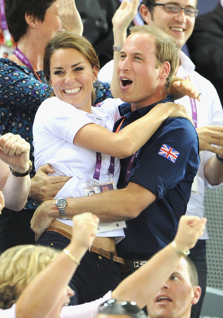 This sweet photo of Prince William and Kate Middleton gets my vote for best of the year! It was a rare moment of candid excitement and affection from the royals as they cheered on the British cycling team to a gold medal over France, and it makes me smile every time I see it.  — Lauren Turner, associate editor