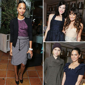 Lea Michele, Zoe Saldana & more frock up for US Marie Claire