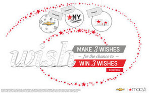Make a Wish, Share the Joy With the Chevrolet Holiday Wish Sweepstakes