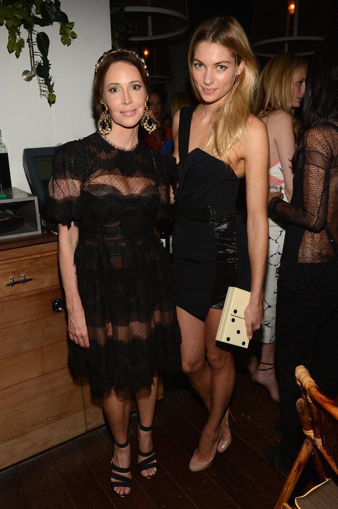 Samantha Boardman and Jessica Hart