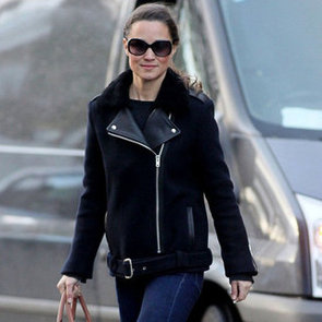 Pippa Middleton Wearing Sneakers