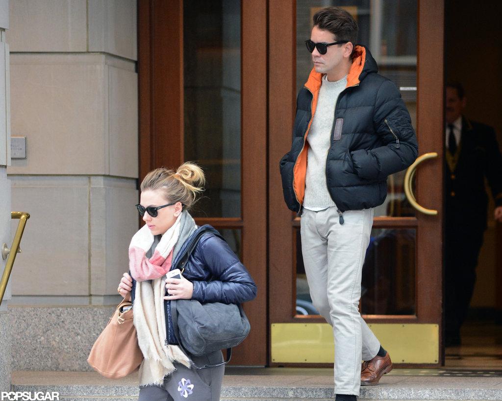 Scarlett Johansson Kisses Her New Man in NYC