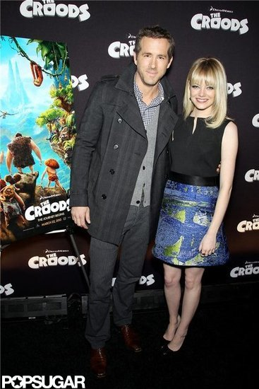 Emma Stone and Ryan Reynolds attended an event in NYC.