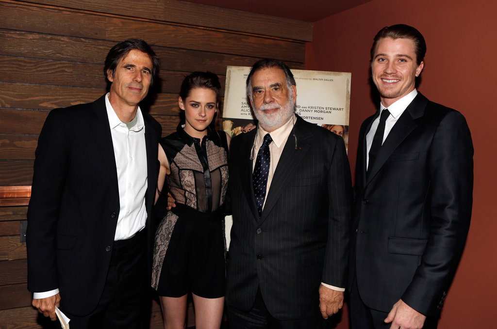 Photo of Walter Salles & his friend  Kristen Stewart