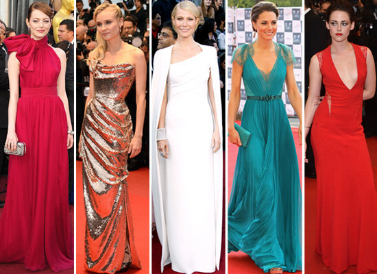 We don't know which red carpet look we like best. Have you voted on your favorite from 2012?