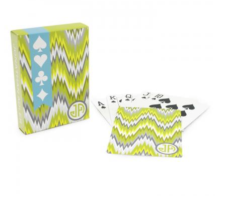 These fun Jonathan Adler Playing Cards ($10) can be used after dinner.
