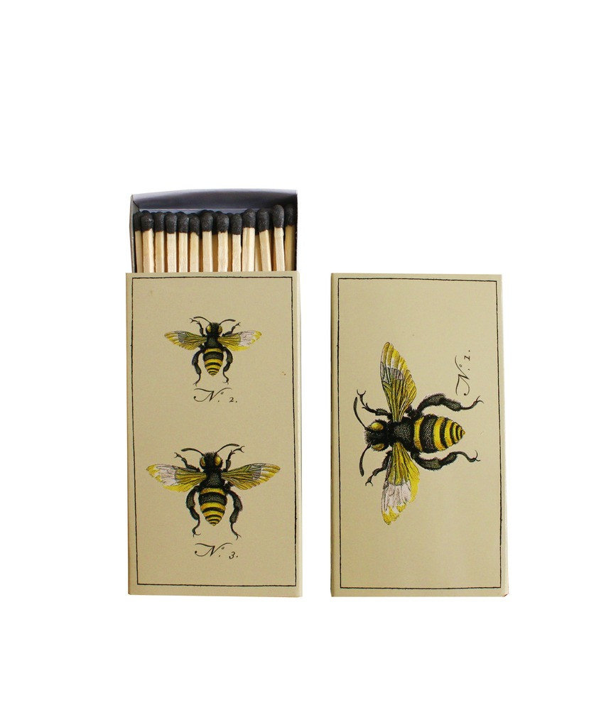 Something small and sweet, like this High Street Market Bumblebee Matchbook ($5) is a simple yet adorable gift.