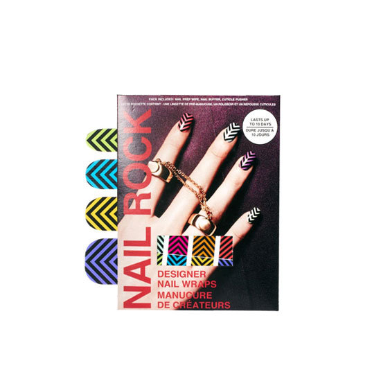 Nail Rock Chevrons Nail Wraps, approx $11.39