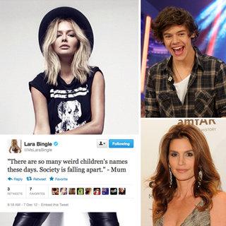 Celebrity Tweets: Cindy Crawford, Rebel Wilson, Harry Styles