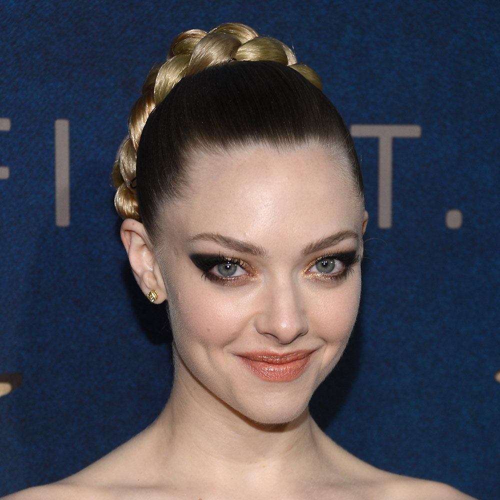 Amanda Seyfriend's dramatic eyes