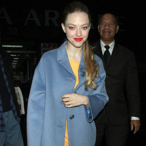 Amanda Seyfried Wearing Yellow Dress