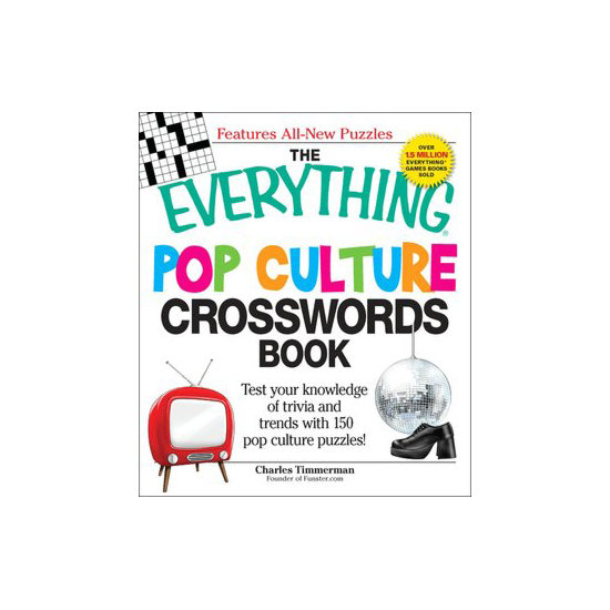 The Everything Pop Culture Crosswords Book ($11)