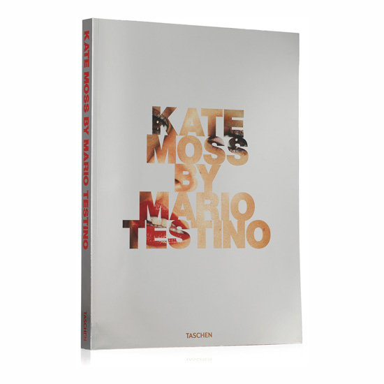 Kate Moss by Mario Testino Paperback, approx. $160