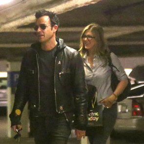 Jennifer Aniston and Justin Theroux Shopping at Barneys NY