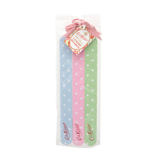 Cath Kidston 3 Spotty Emery Boards, approx $8.50