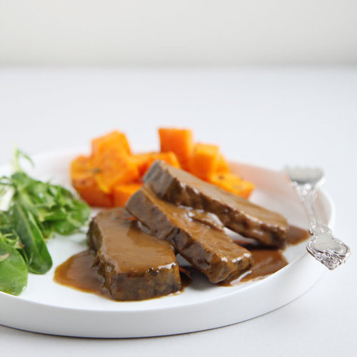 Red Wine Braised Brisket