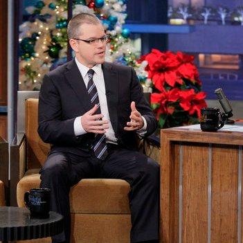 Matt Damon Read Comments About Himself on Tonight Show