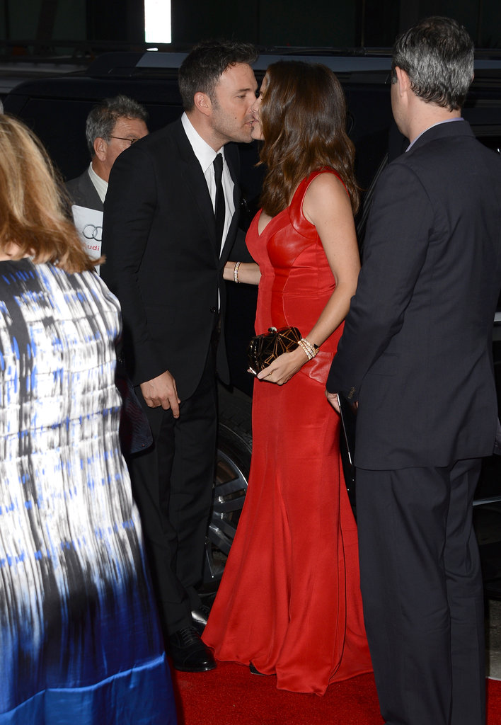 My heart melted when Ben Affleck snuck a kiss with his biggest supporter, wife Jennifer Garner, who stood by his side for the LA premiere of Argo in October. They looked so in love! — Meghan Rooney, editorial assistant