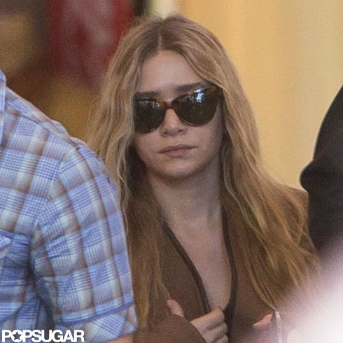 Ashley Olsen Reportedly Has Plane Problems