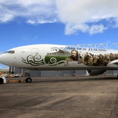 Hobbit New Zealand Air