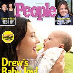 Drew Barrymore Baby Olive Kopelman Pictures