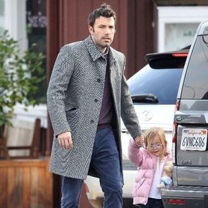 Ben Affleck With Seraphina and Mom in Brentwood | Pictures