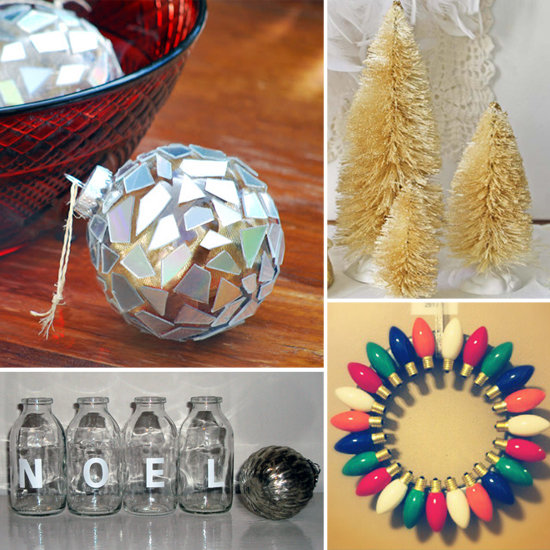 Diy christmas decorations popsugar smart living for Christmas decoration ideas to make