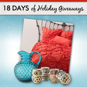 18 Days of Holiday Giveaways, Day 13: Enter For the Chance to Win Your Home Decor Wish List From Anthropologie