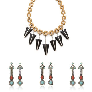 Party Jewellery: Earrings, Rings, Necklaces, Cuffs, Bangles